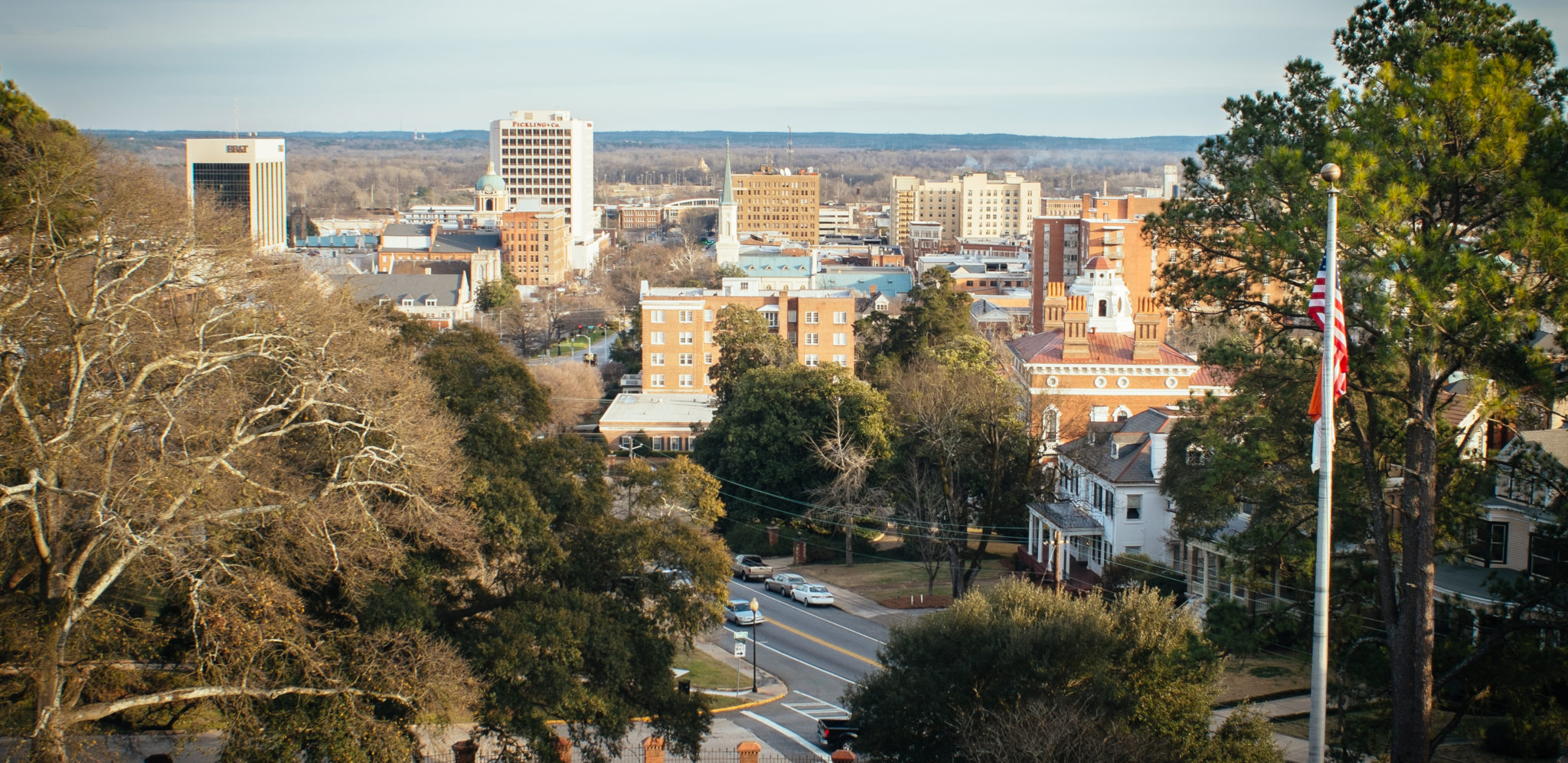 View of Macon